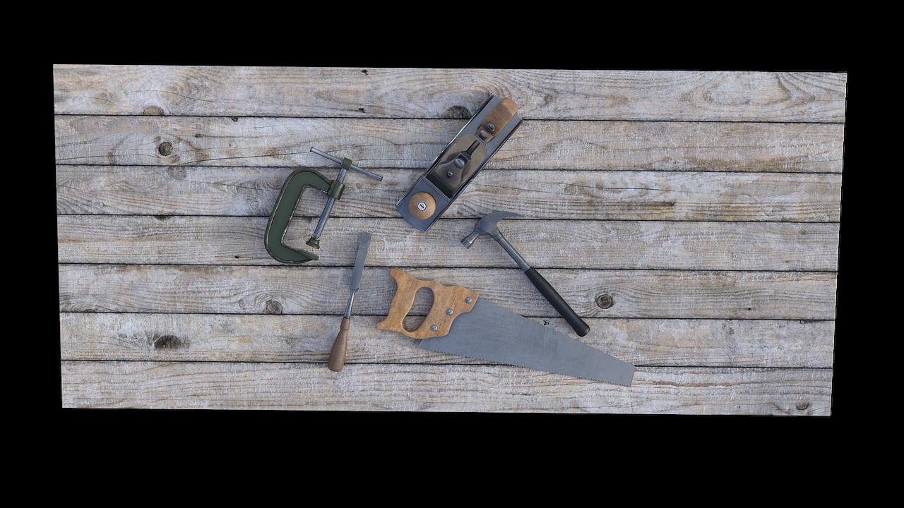 Handsaege gutes Werkzeug