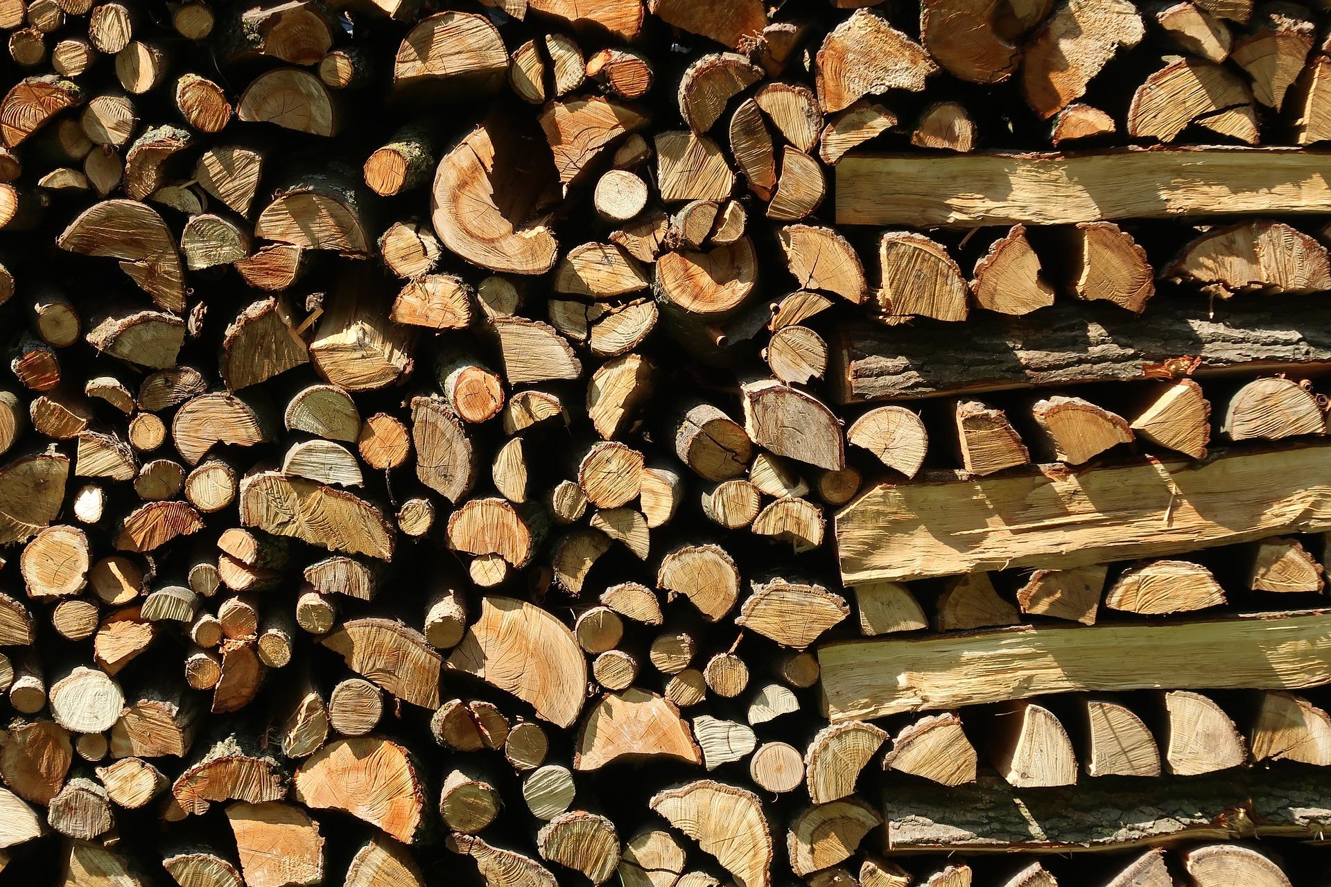 Holzspalter Holz einfach zerkleinern
