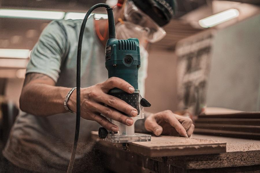 Stabschleifer Holz bearbeiten