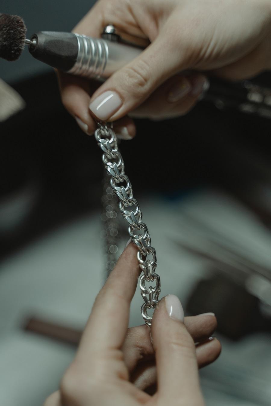 Stabschleifer Metalle bearbeiten