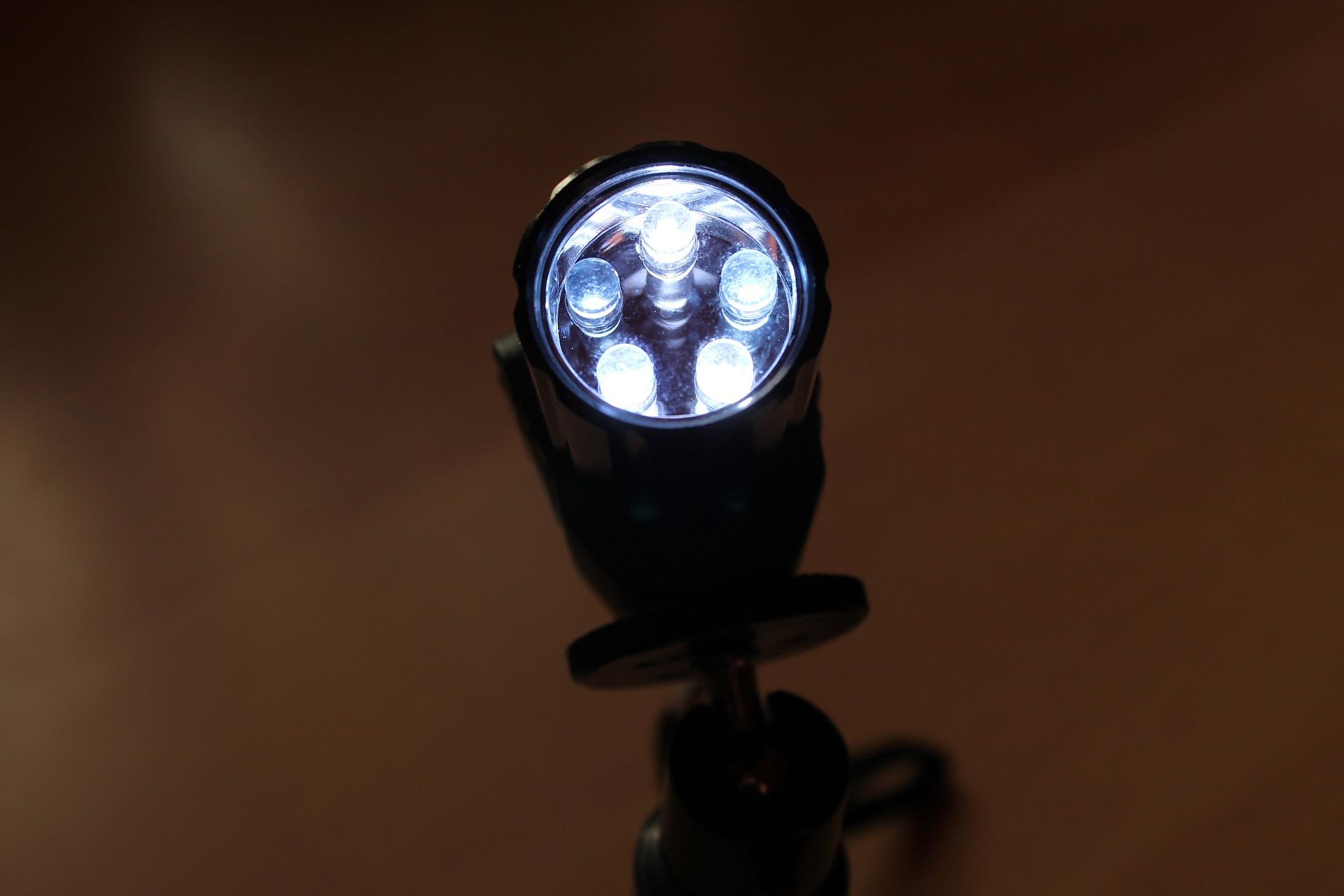 LED-Baustrahler Leistung