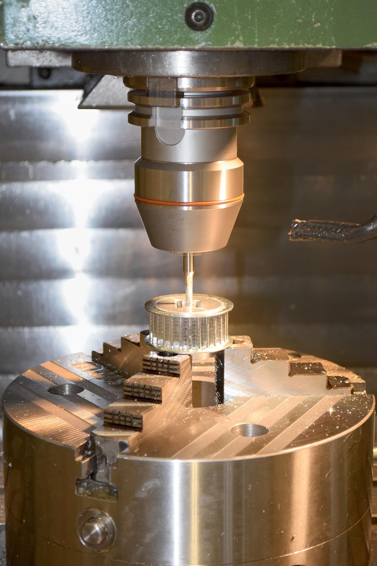 Standbohrmaschine Werkstoffe bearbeiten